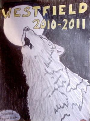 Yearbook Cover Contest Drawing