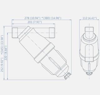 Amiad Tagline Filter 0.13MM 1.5 inch Male Thread [Z6122]