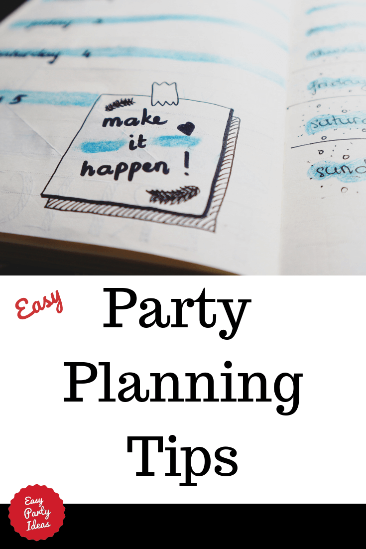 party planning ideas and