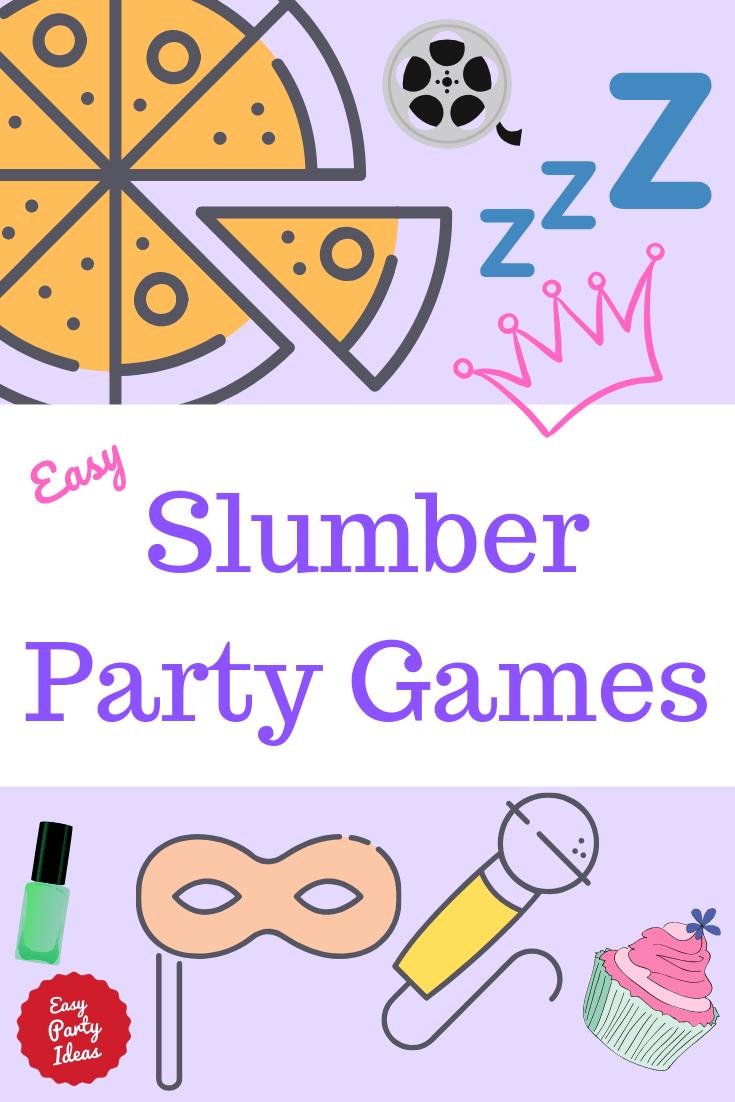 girl slumber party games