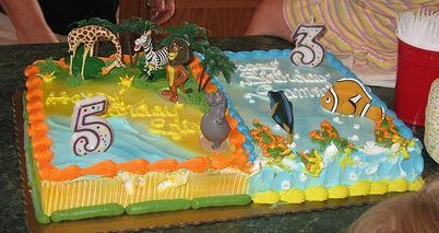 Shared Birthday Cake Options