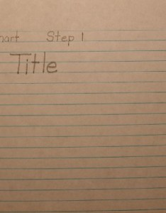 How to make  chart also graph and made easy rh science fair projects