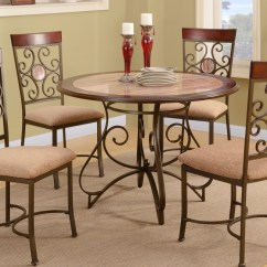 Dining Table With Metal Chairs Art Deco French Fashion Frame And Chair Set