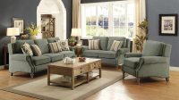 Rosenberg Light Sage Living Room Sofa