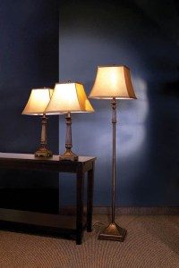 3 Piece Floor Lamp Set