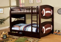 Football Theme Bunk Bed With Drawers