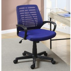 Blue Office Chair Modern Kitchen Table And Chairs
