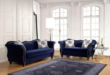 Royal Blue Sofa Living Room
