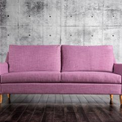 Purple Contemporary Sofa Knopparp Modern