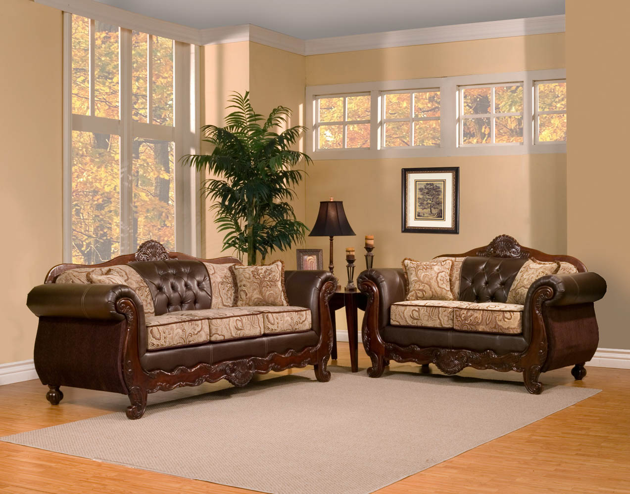 traditional sofa sets living room papasan two piece sectional reviews 2 elegant set umfalexander2 jpg