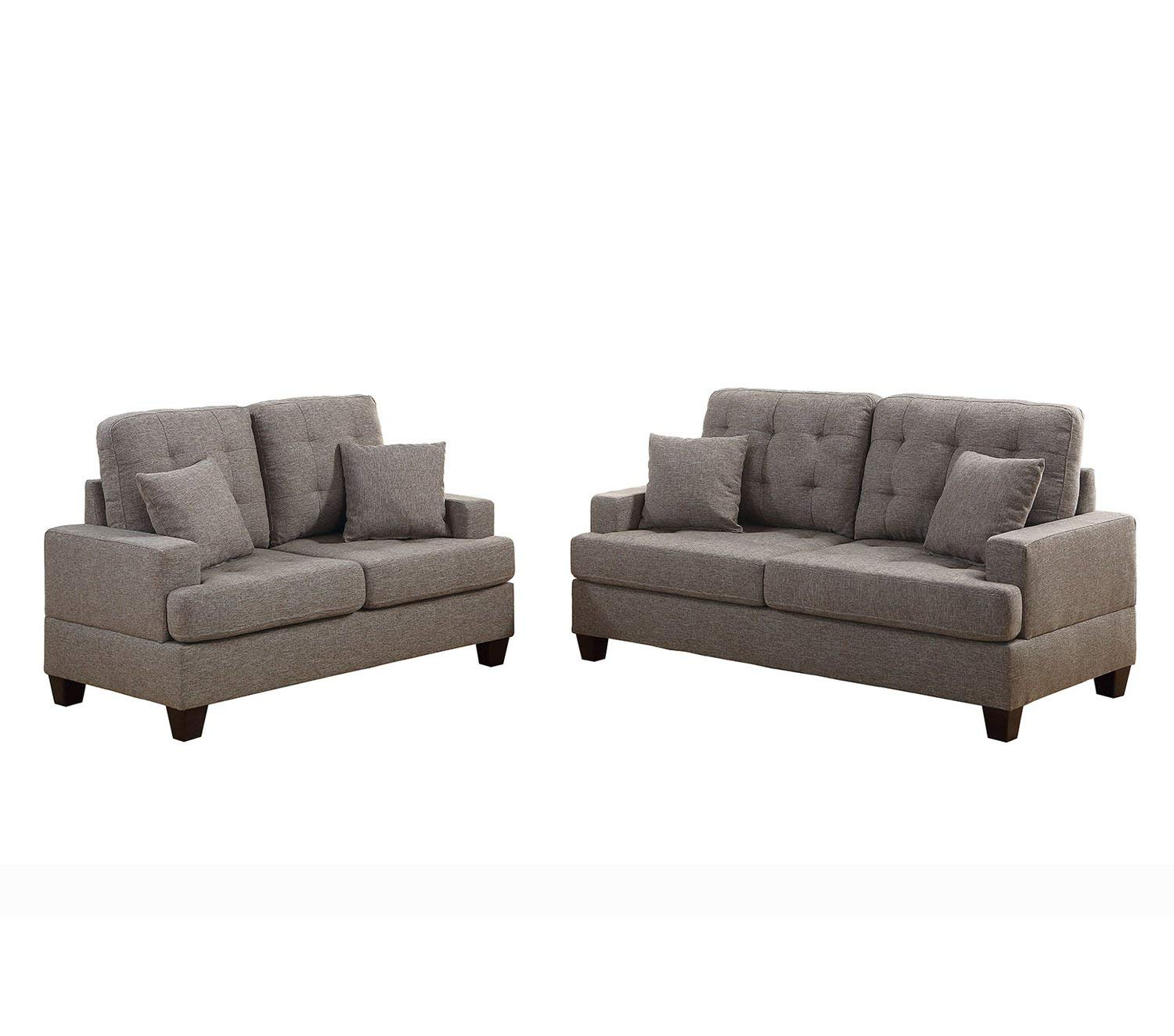 bobkona sectional sofa embly instructions surefit pearson stretch cover 2 pcs oleta and loveseat set