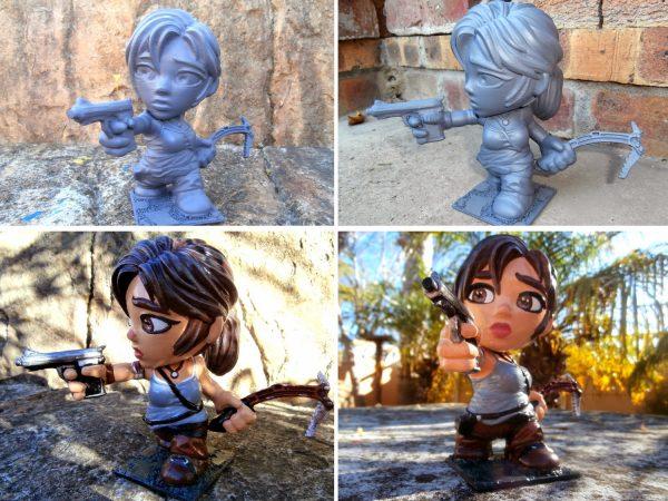 3D prints painting