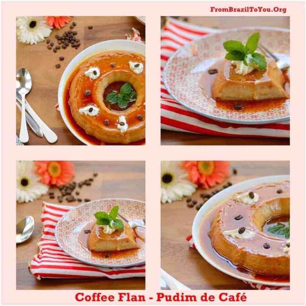 Pudim de Café - Coffee Flan