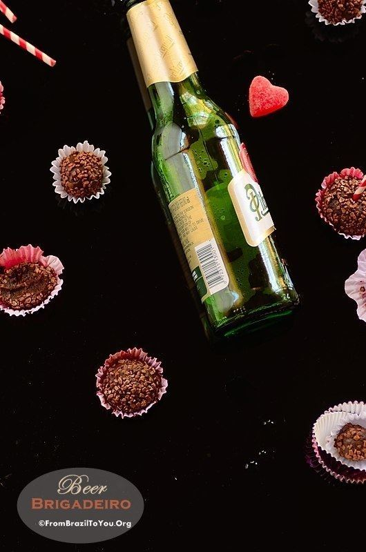 Beer Brigadeiro -- Five-Ingredient, Quick, Scrumptious Fudge Balls ( Great for any type of party)!!!