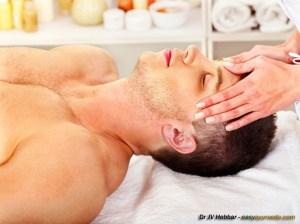 massage head copy