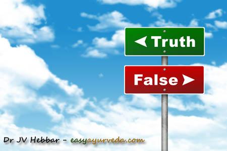 beware of false ad claim