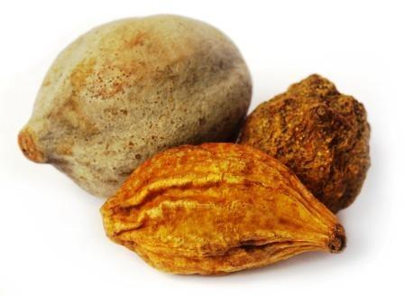 Triphala, a combination of 3 ayurvedic fruits