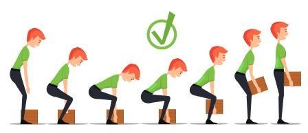 Correct lifting method-1