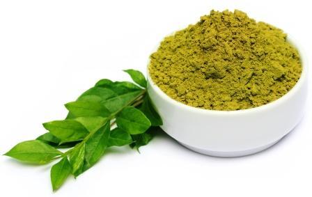 Mehendi powder leaves
