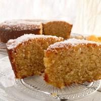 עוגת תפוזים, קוקוס וסולת של ארומה מקמח מלא