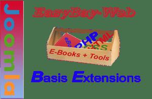 Unser Joomla Extensions Basispaket erleichtert den täglichen Umgang mit Joomla.