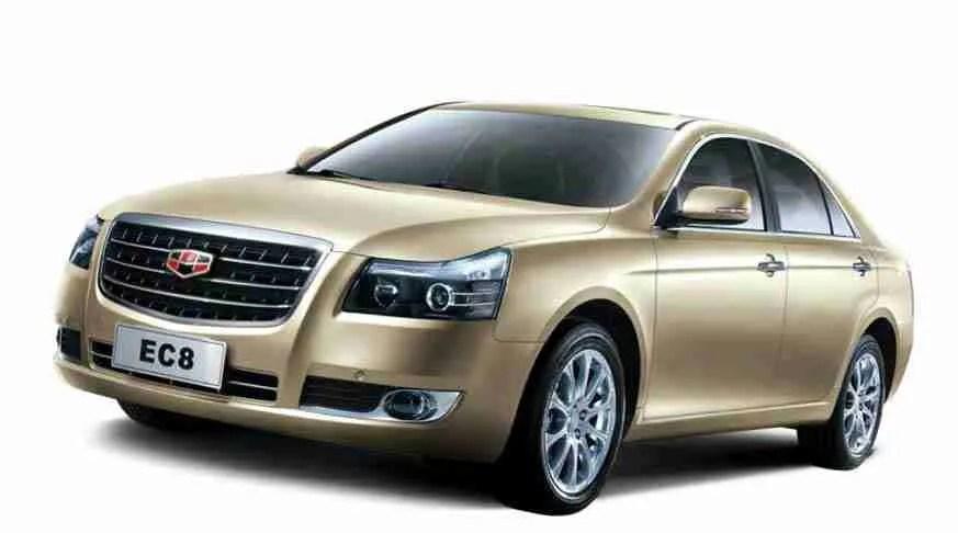 cuba car rental companies. emgrand EC 820. renta de coches en cuba. auto noleggio a Cuba