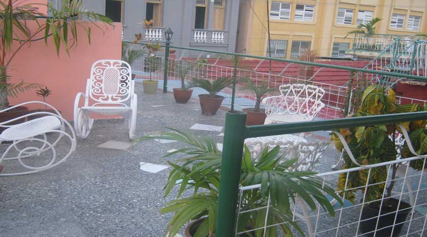 In Santiago de cuba do not hesitate to select Casa Miriam