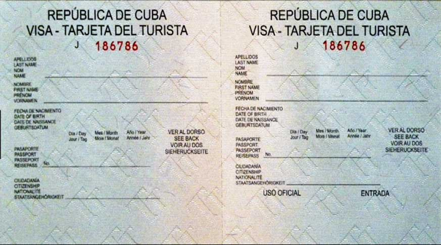 Visa of Tourism