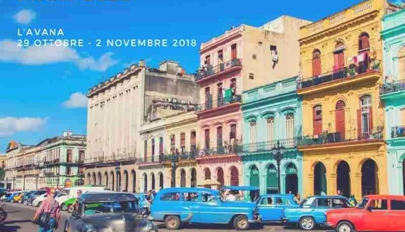 international fair of havana 2018. feria internacional de la habana 2018. fiera internazionale dell'avana 2018