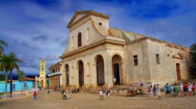 cuba package holidays. Trinidad Church.