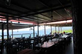 trip to santiago de cuba. the morro restaurant.