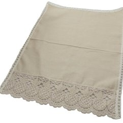 Chair Back Covers Woven Patio Repair Pineapple Linen By Easycare Tablecloths