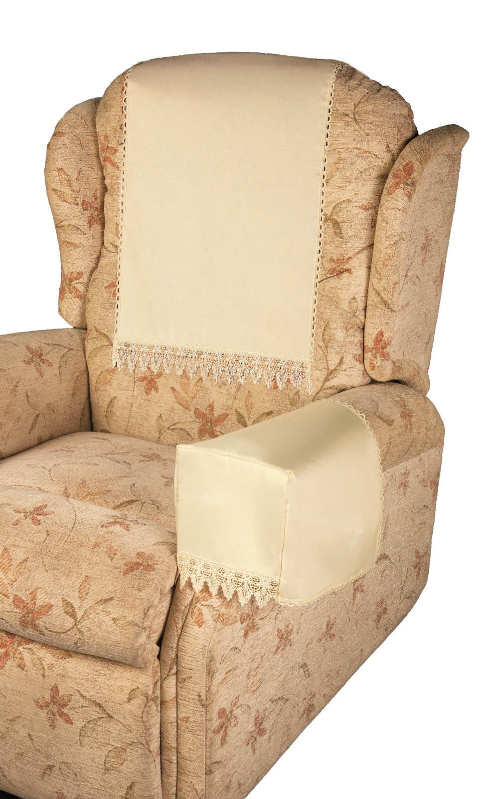 christmas chair back covers uk wheelchair motors comet cream 6 arm - easycare tablecloths