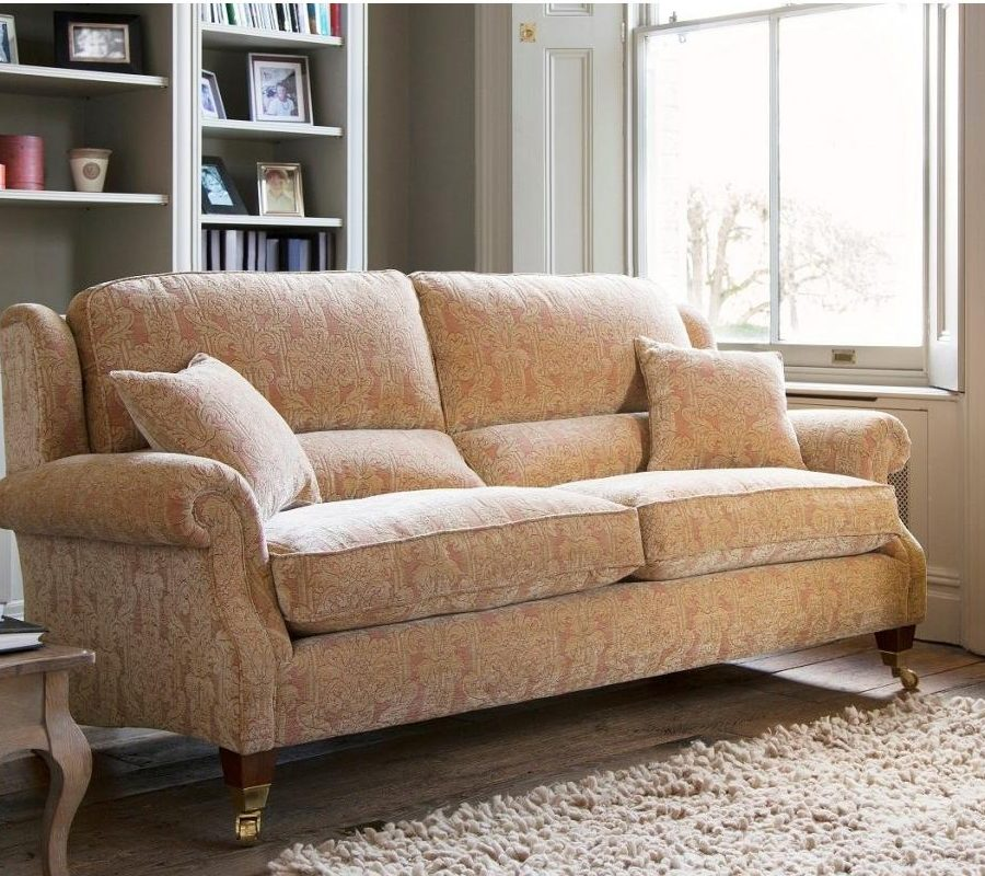 henley sofa and chair sectional leather parker knoll - easy company, bishop's ...