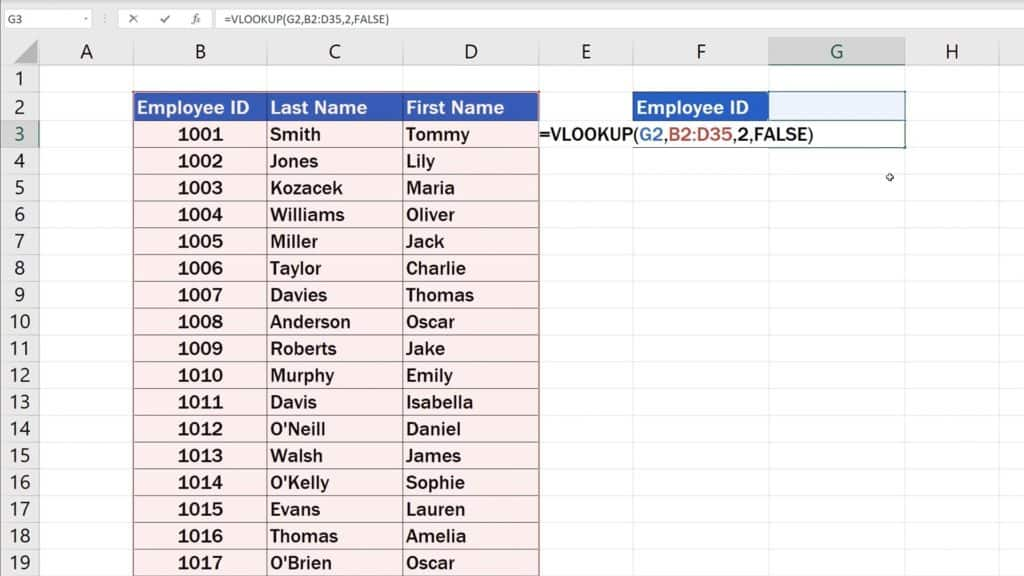 How to Use the VLOOKUP Function in Excel (Step by Step)