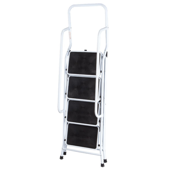 kitchen chair cushions non slip free cabinet design software folding four step ladder with handrails - ...