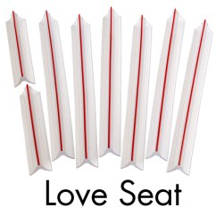 Chair Stoppers Plastic Mission Style Chairs For Sale Slipcover Tuck Grips - Slipcovers Easy Comforts