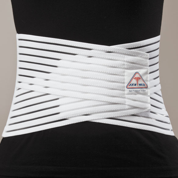 Breathable Elastic Back Support  Back Support Wrap  Easy