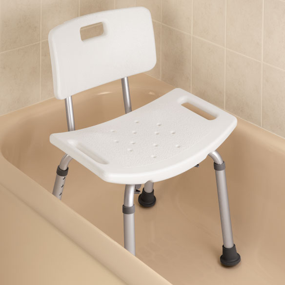 chair pads non slip swing with canopy bath bench back - easy comforts