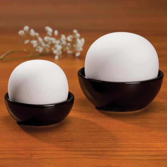fitness ball chair double saucer black room humidifiers, set of 2 - humidifier balls easy comforts