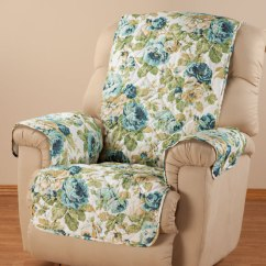 Microfiber Recliner Chair Covers Garden Uk English Floral Cover - Easy Comforts