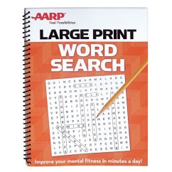 Chair Games For Seniors Camp With Footrest Aarp Large Print Word Search - Easy Comforts