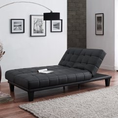 Sofa Bed Lounger Old Sofas For Charity Julia Convertible Futon With Chaise Black