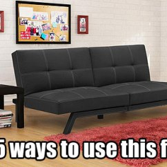 Delaney Futon Sofa Bed 3 Piece Living Room Set What Color Should I Paint My With A Tan Couch Futons Loft Style Furniture Matching Ottomans 5 Ways To Use The