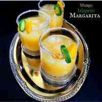Mango Jalapeno Margarita - 3 Minutes Drink