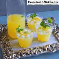 Passionfruit and Mint Sangria