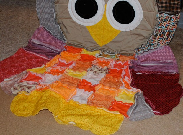DIY Easy Owl Quilt