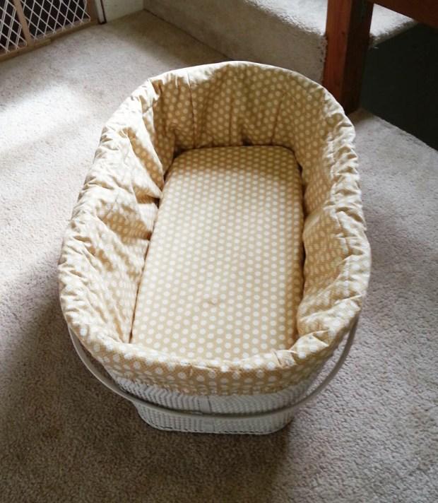 diy bassinet cover