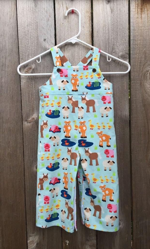 farm animal overalls