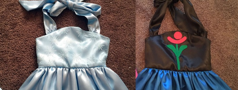 DIY Anna and Elsa Costumes – Easy Craft and Sew